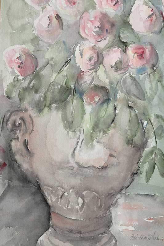 Ruusut ruukussa