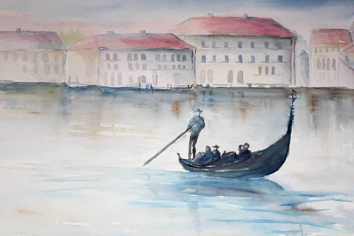 Venetsian väylillä