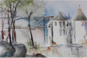 Kaupunkiakvarellit